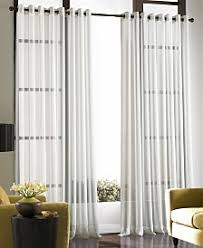 Crushed Voile Curtains Grommet by Sheers Curtains And Window Treatments Macy U0027s