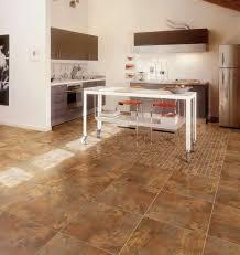 Porcelain Floor Tile in Kitchen Modern Kitchen Other by