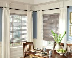 Kitchen Curtain Ideas For Bay Window by Window Blinds Curved Bay Window Blinds Curtain Ideas Curtains