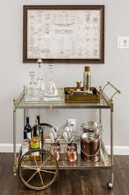 Best 25 Rustic Bar Carts Ideas Pinterest Cart Kitchen With