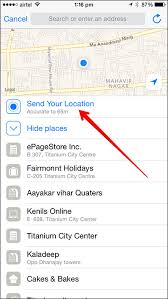 How to Your Location on WhatsApp from iPhone