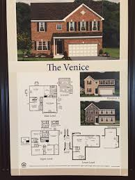Ryan Homes Venice Floor Plan by Southgate Single Family Homes In Stafford County Northern
