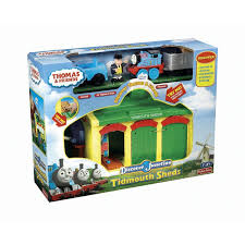 thomas friends discover junction tidmouth sheds train playset ebay