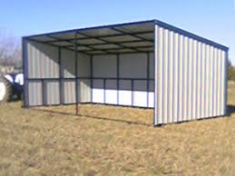 loafing shed kits oklahoma gobob pipe and steel sheds