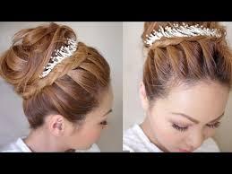 Winter Formal Bridal Updo Hair Tutorial