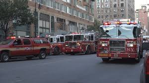 100 New York Fire Trucks Fire Trucks Called To Fire Stock Video Footage