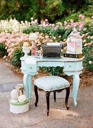 Vintage Outdoor Wedding Decorations Pink And Turquoise Theme Style