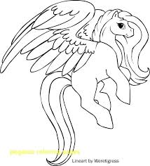 Pegasus Coloring Page Pages With Printable Image Beyblade Colouring