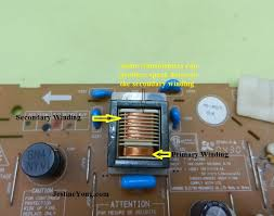 how to completely test lcd inverter transformer electronics