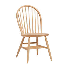 Amazon.com: Bolton Furniture Bow Back Chair Natural: Kitchen ...