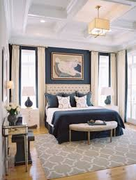 Full Size Of Bedroomattractive White Wall Color Framed Bed Classic Blue Walls And Large