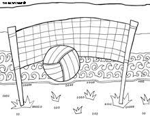 Volleyball Drawing On Pinterest