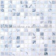 black blue beige white mixed square marble mosaic tile the of
