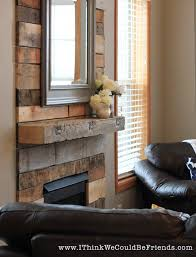 Palette Wood Fireplace Makeover Looks Like Re Claimed