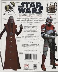 Star Wars Revenge Of The Sith Visual Dictionary Jim Luceno 9780756611286 Amazon Books