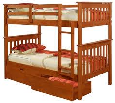 wooden bunk beds durable solid wood kids bunk beds