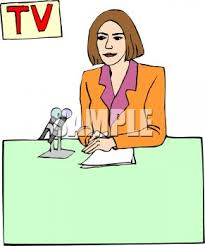 Female Television News Anchor