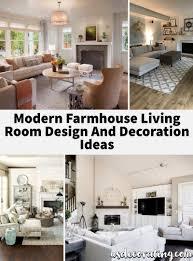 100 Modern Home Decoration Ideas 23 Farmhouse Living Room Design And Decor