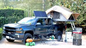 Overland Camping Build - 2017 Chevy Silverado FrontRunner RTT - YouTube