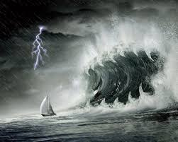 Mirror Lake Animated Wallpaper Ocean Storm