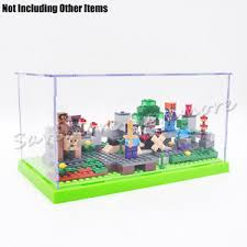 Image Is Loading Acrylic Minifigures 3Step Display Case Box Self Assembly