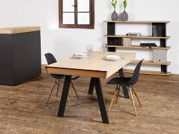 Celerina Is A Convertible Dining Table That Doubles As Desk And Opens Its Top With