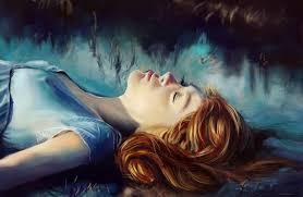 Beautiful Painting Art Girl Face Wallpaper