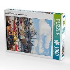 istanbul die stadt auf zwei kontinenten lege größe 48 x 64 cm foto puzzle bild christian müller puzzle calvendo