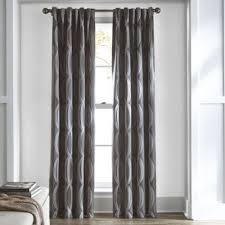 Grommet Top Curtains Jcpenney by Studio Dakota Two Tone Lined Grommet Top Curtain Panel Room