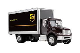 100 Who Makes Ups Trucks Amazoncom Daron Box Truck 150 Gwups001 Toys Games