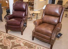 Bradington Young Leather Sofa Recliner by Bradington Young Alta Recliner Curriers Leather Furniture