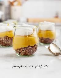 Pumpkin Pie Mousse Parfait by Vegan Pumpkin Pie Parfaits Recipe Love And Lemons