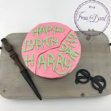 happy birthday harry torte frau fon dant