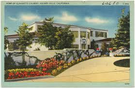 100 Holmby Home Of Claudette Colbert Hills California Digital