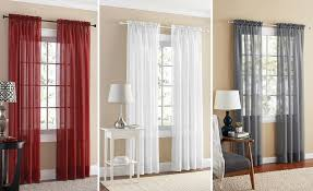 Walmart Mainstay Sheer Curtains by Walmart Mainstays Curtain Panel 2 Pk Only 5 00