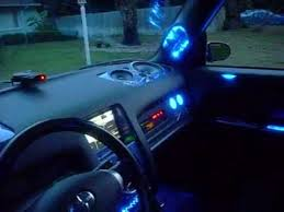 Scion xB Custom Interior Lighting