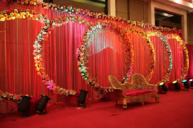 Home Flower Decoration Pre Wedding Functions