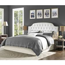 Wayfair King Bed by Bedroom White Tufted Leather Headboard With Wingback Headboard