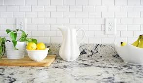 Subway Tiles Kitchen Backsplash Ideas How To Install A Subway Tile Kitchen Backsplash