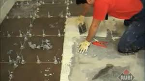 Floor Tile Spacers And Levelers by Rubi Tile Leveling System How To Use Video Dailymotion