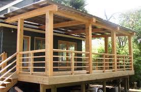 Horizontal Deck Railing Ideas by Deck Building Radnor Decoration