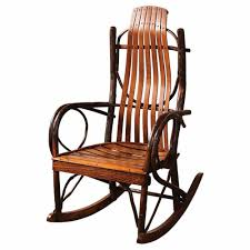 Amish Hickory Rocking Chairs: Cabin Place