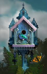 Victorian Birdhouse Ii By Whale Man Via Flickr