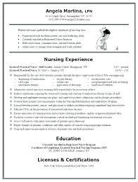 Sample Resumes For Registered Nurses Nurse Resume Cover Letter Cardiac