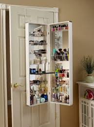 Over The Door Bathroom Organizer by Over The Door Cosmetic Organizer Bed Bath And Beyond Home Design