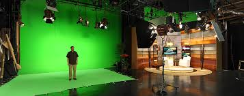 Los Angeles Stage Rental Green Screen Kitchen Set Talk Show