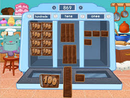 3 Digit Place Value Machine Game