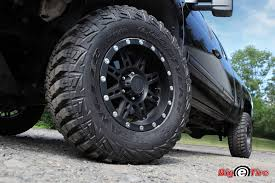 100 Goodyear Truck Tires 35 Wrangler MTR Tires Mounted On 18 Pro Comp Wheels