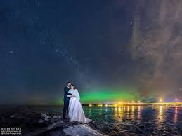 Wedding s Under the Milky Way and Northern Lights
