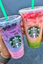 New Starbucks Secret Menu Alert Heres How To Order The 2 Toned Pink Purple Drink